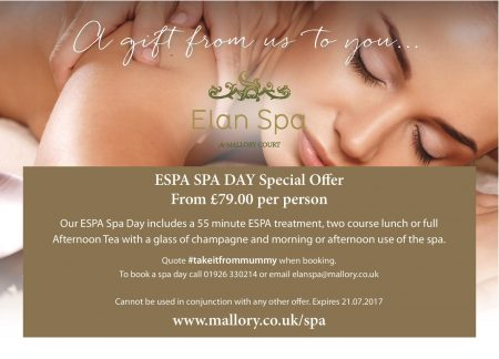 Mallory Court Elan Spa Discount