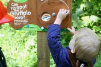 Gruffalo Spotting at Salcey Forest