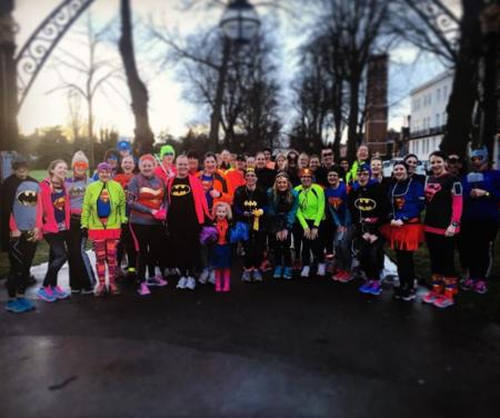 Run Like A Girl Superhero Team