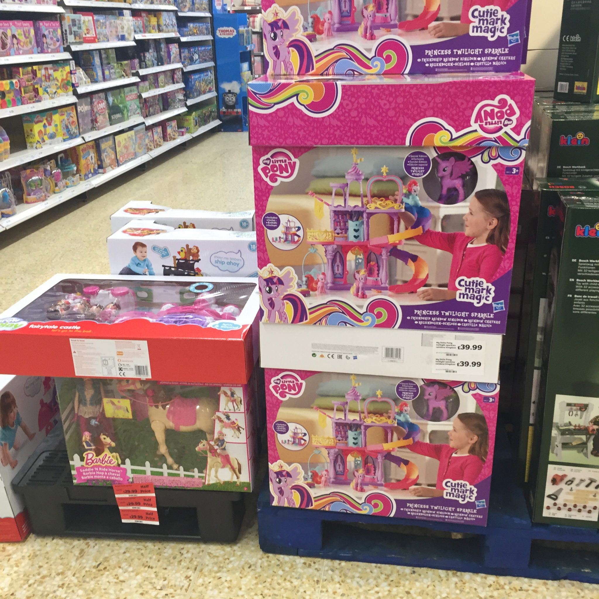 Sainsbury s Half Price Toy Sale Oct 2015