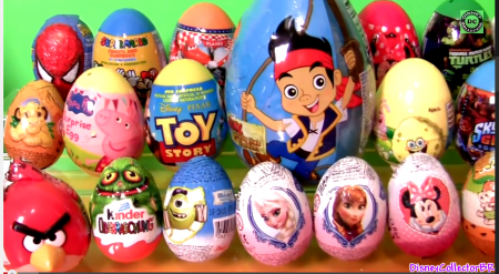 Kinder Eggs Disney Toys Collector