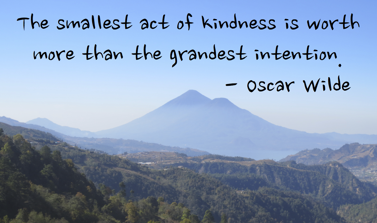 essay on act of kindness