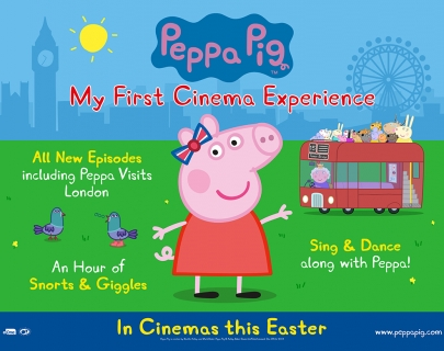 Peppa Pig, My First Cinema Experience