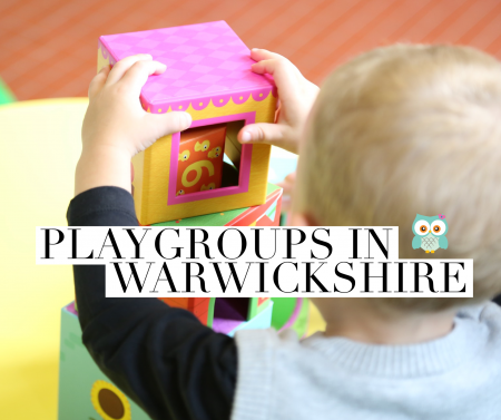 Playgroups in Warwickshire