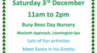 Busy Bees Leamington Christmas Event 2016