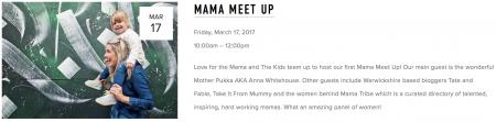 Mama Meetup, Leamington Spa