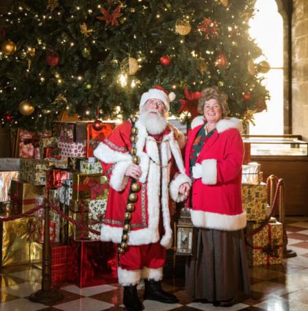 Santa's Stately Breakfast at Warwick Castle
