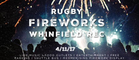 Rugby Fireworks Night