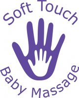 Soft touch baby massage logo