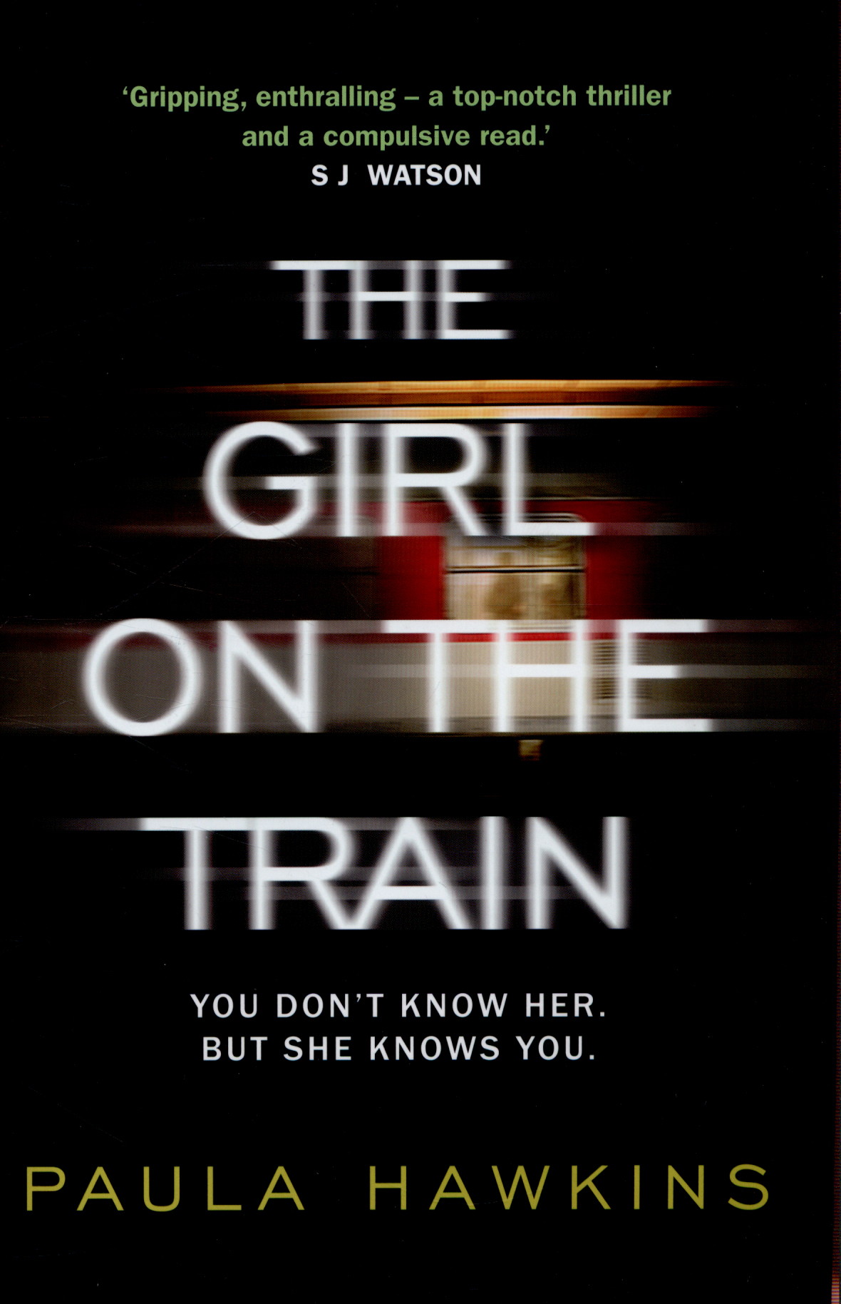 review of girl on the train book