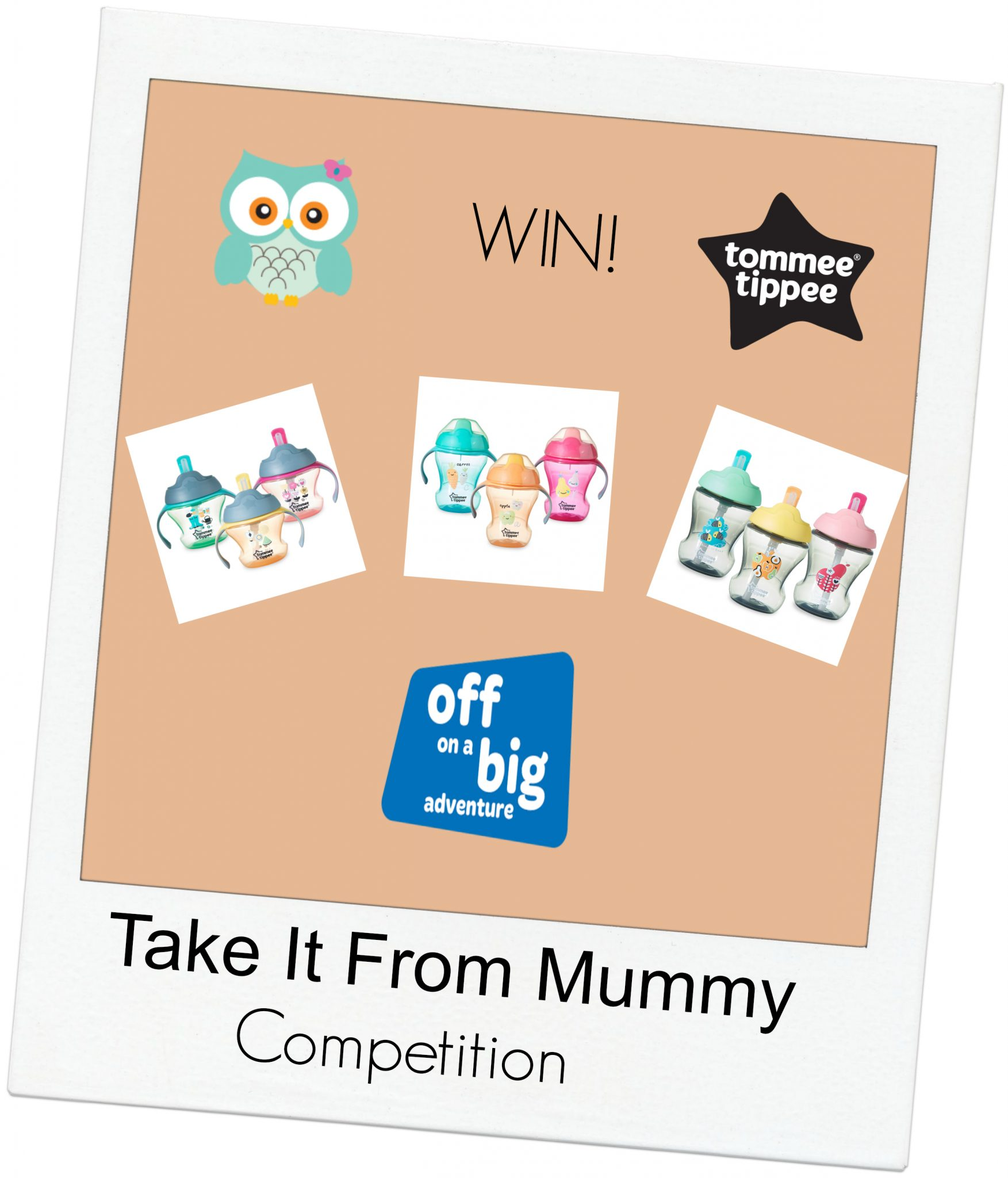 Tommee Tippee Off On A Big Adventure Giveaway Take It From Mummy Insulated Sippee Cup 12m Yellow Bee Tommeetipeecompetition