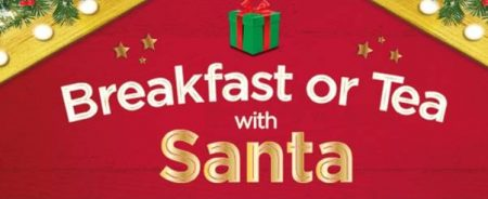 breakfast or tea with santa