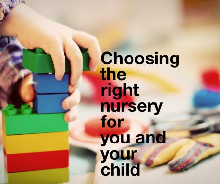 choosing the right nursery