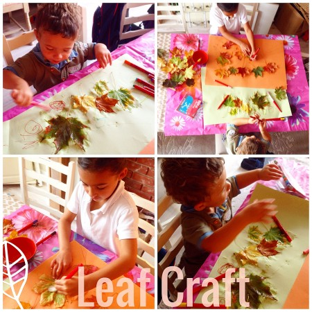 Leaf Crafts