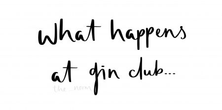 What Happens At Gin Club