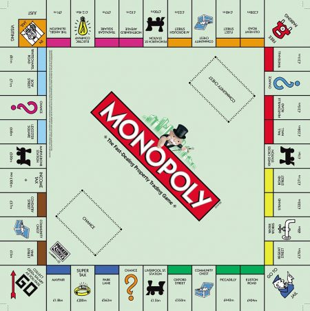 elf monopoly board