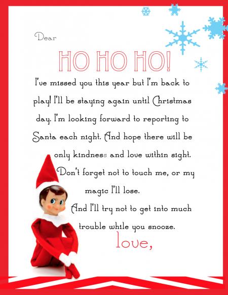 Pimp Your Elf The Shelf – Free Printables